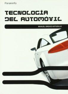 tecnologia del automovil-manuel orovio astudillo-9788428332101