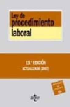 Permacultivo.es Ley De Procedimiento Laboral (13ª Ed.) Image