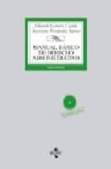 Emprende2020.es Manual Basico De Derecho Administrativo (6ª Ed) Image