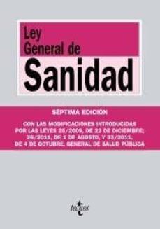 Carreracentenariometro.es Ley General De Sanidad (7ª Ed.) Image