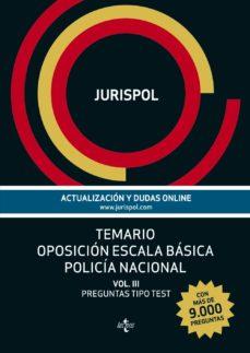 Alienazioneparentale.it Temario Oposicion Escala Basica Policia Nacional (Vol. Iii): Preg Untas Tipo Test Image