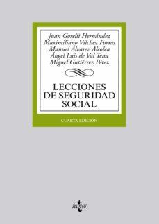 Cronouno.es Lecciones De Seguridad Social (4ª Ed.) Image