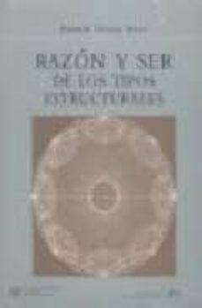 Descargar libros electrónicos gratis para Android móvil RAZON Y SER DE LOS TIPOS ESTRUCTURALES