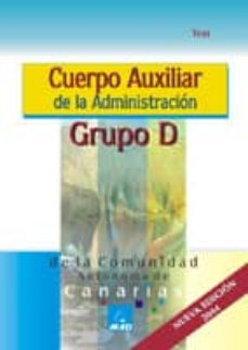 Inciertagloria.es Cuerpo Auxiliar De La Administracion Grupo D De La Comunidad Auto Noma De Canarias: Test Image