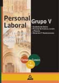 Chapultepecuno.mx Grupo V De Personal Laboral De La Comunidad Autonoma De Castilla Y Leon: Temario Comun Y Test Image