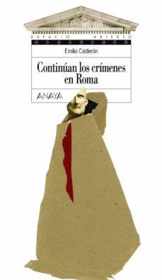 continuan los crimenes en roma-emilio calderon-9788466736701