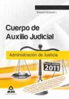 Upgrade6a.es Cuerpo De Auxilio Judicial De La Administracion De Justicia: Tema Rio (Vol. I) Image