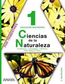 Cdaea.es Ciencias De La Naturaleza 1. (C. Valeciana) Image
