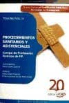Permacultivo.es Cuerpo De Profesores Tecnicos De F.p. Procedimientos Sanitarios Y Asistenciales. Temario Vol. Iii. Image