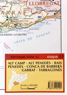 Emprende2020.es Mapa 11. Alt Camp; Alt Penedes; Baix Penedes; Conca De Barbera; G Arraf; Tarragones Image