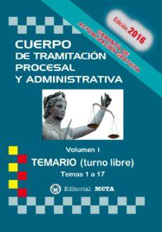 Milanostoriadiunarinascita.it Cuerpo De Tramitacion Procesal Y Administrativa Turno Libre Volumen I Temario Image