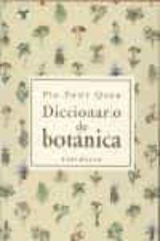 diccionario de botanica-pio font quer-9788483073001