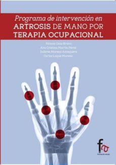 programa de intervención en artrosis de manos por terapia ocupacional-9788490880401