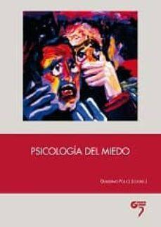 psicologia del miedo-guillermo fouce-9788494398001