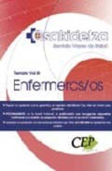 Upgrade6a.es Enfermeras/os El Servicio Vasco De Salud Osakidetza. Temario Vol. Iii Image
