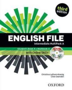 Viamistica.es English File Intermediate Student S Book+workbook Multipack A Image