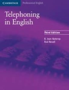 telephoning in english (3rd ed.)-b. jean naterop-rod revell-9780521539111