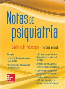 notas de psiquiatría-m. pedersen-9786071509611