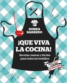 ¡que viva la cocina! (ebook)-9788417338411