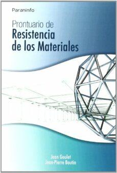Descargar PRONTUARIO DE RESISTENCIA DE LOS MATERIALES gratis pdf - leer online