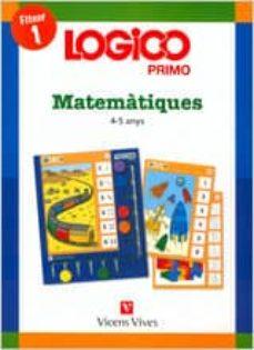 Lofficielhommes.es Logico Primo. Matemàtiques 1 (4-5 Anys) Infantil Cat Image