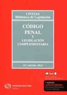 Carreracentenariometro.es Codigo Penal Y Legislacion Complementaria (41ª Ed.) (Duo) Image