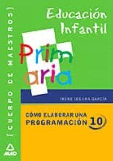 Trailab.it Cuerpo De Maestros De Educacion Infantil: Como Elaborar Una Progr Amacion 10 Image