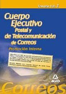 Inmaswan.es Cuerpo Ejecutivo De Correos: Promocion Interna: Temario (Vol. Ii) Image