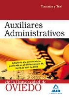 Viamistica.es Auxiliares Administrativos De La Universidad De Oviedo. Temario Y Test Image