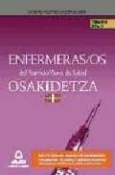 Valentifaineros20015.es Enfermeras/os Del Servicio Vasco De Salud/osakidetza. Temario Vol Image