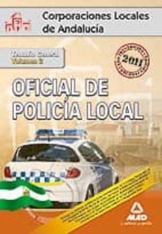 Costosdelaimpunidad.mx Oficial De La Policia Local De Andalucia: Temario General (Vol. I I) Image