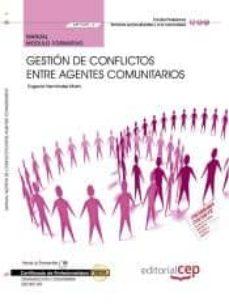 Costosdelaimpunidad.mx (Mf1025_3) Manual. Gestión De Conflictos Entre Agentes Comunitarios . Certificados De Profesionalidad. Dinamización Image