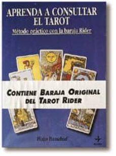 aprenda a consultar el tarot ( 1 estuche con cartas)-hajo banzhaf-9788476406311