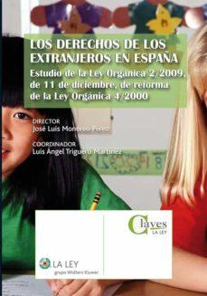 los derechos de los extranjeros en españa (ebook)-jose luis monereo perez-9788481269611
