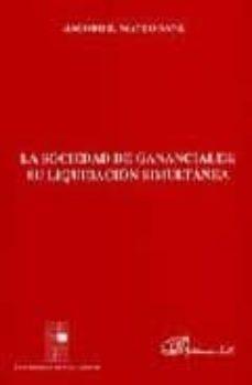 la sociedad de gananciales: su liquidacion simultanea-jacobo b. mateo sanz-9788481558111