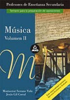 Inmaswan.es Musica, Especifico Para Profesores De Educacion Secundaria. Temar Io Image