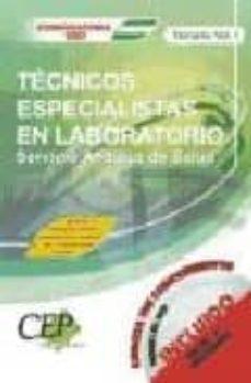 Emprende2020.es Temario (Vol. I): Oposiciones Tecnicos Especialistas En Laborator Io. Servicio Andaluz De Salud (Sas) Image