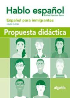 Valentifaineros20015.es Hablo Español: Español Para Inmigrantes (Nivel Inicial) Image