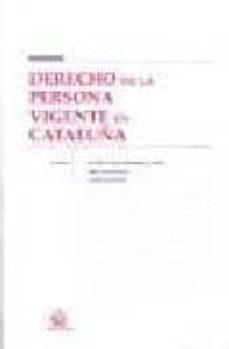 Ojpa.es Derecho De La Persona Vigente En Cataluña Image