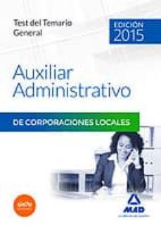Alienazioneparentale.it Auxiliares Administrativos De Corporaciones Locales. Test Del Temario General Image