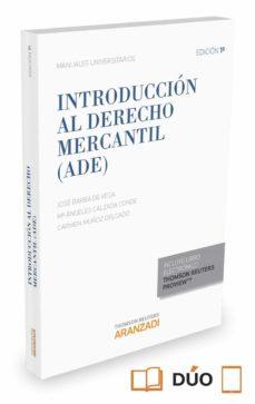 introducción al derecho mercantil (ade) 2015 formato duo-jose barba de la vega-9788490983911