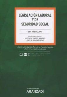 legislacion laboral y de seguridad social (25ª ed.)-antonio v sempere navarro-9788491524311