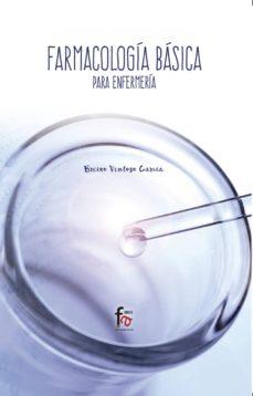 Descarga de libros en francés FARMACOLOGIA BASICA PARA ENFERMERIA 9788491841111