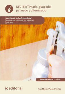 tintado, glaseado, patinado y difuminado. mamr0208 (ebook)-juan miguel pascual cortes-9788491984511