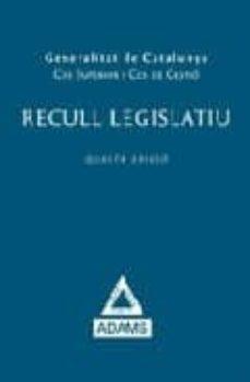 Viamistica.es Recull Legislatiu Generalitat De Catalunya (4ª Ed.) Image