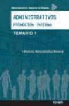 Cronouno.es Administrativos. Promocion Interna Administracion General Del Estado. Temario I Image