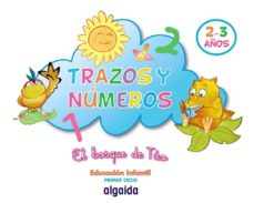 trazos y números. el bosque de túo (ed. infantil 0-2 años)-9788498772111