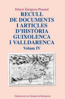 Titantitan.mx Recull De Documents I Articles D Historia Guixolenca I Vallderenc A. Volum Iv Image
