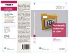 Valentifaineros20015.es Prontuario Proteccion De Datos 2011 Image