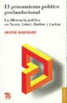 Inmaswan.es El Pensamiento Politico Posfundacional: La Diferencia Politica En Nancy, Lefort, Badiou Y Laclau Image